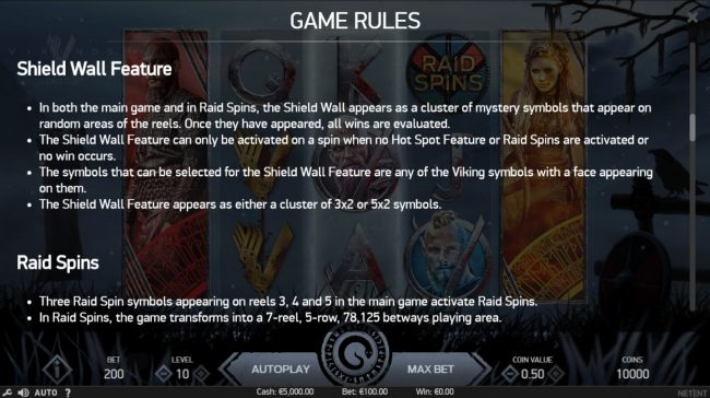 Vikings :: Feature Rules