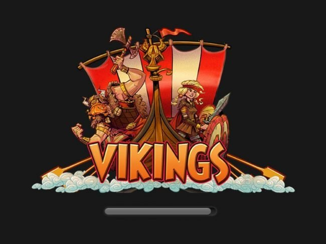 Vikings :: Splash screen - game loading - Viking Themed
