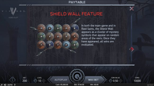 Shield Wall Feature