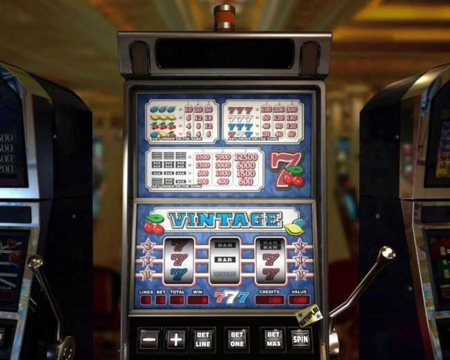 Elegant VIP featuring the Video Slots Vintage with a maximum payout of $12,500