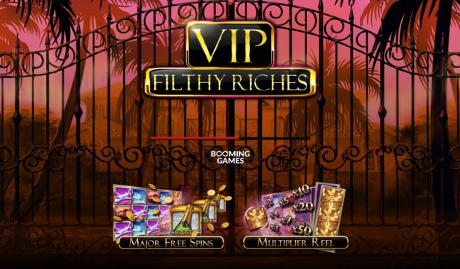 Wild Tornado featuring the Video Slots VIP Filthy Rich with a maximum payout of $80,000