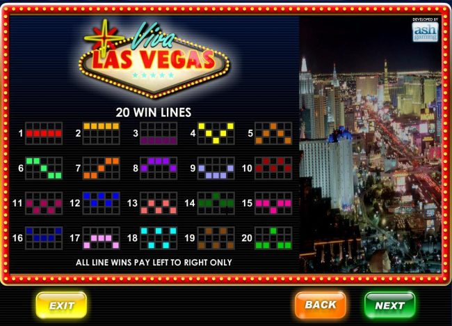 21 Nova featuring the Video Slots Viva Las Vegas with a maximum payout of $50,000