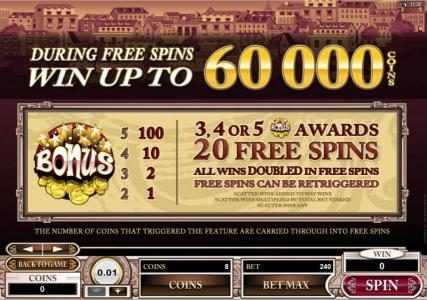 Rich Reels featuring the Video Slots Voila! with a maximum payout of $120,000