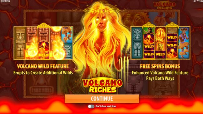 Play slots at Betive: Betive featuring the Video Slots Volcano Riches with a maximum payout of $150,000