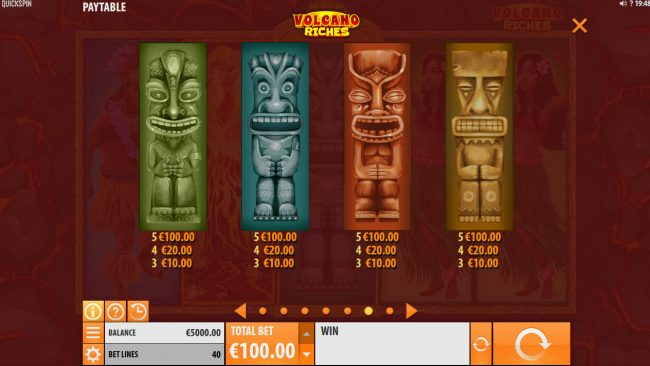 Play slots at House of Jack: House of Jack featuring the Video Slots Volcano Riches with a maximum payout of $150,000