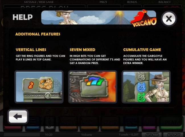 Volcano :: Additional Features