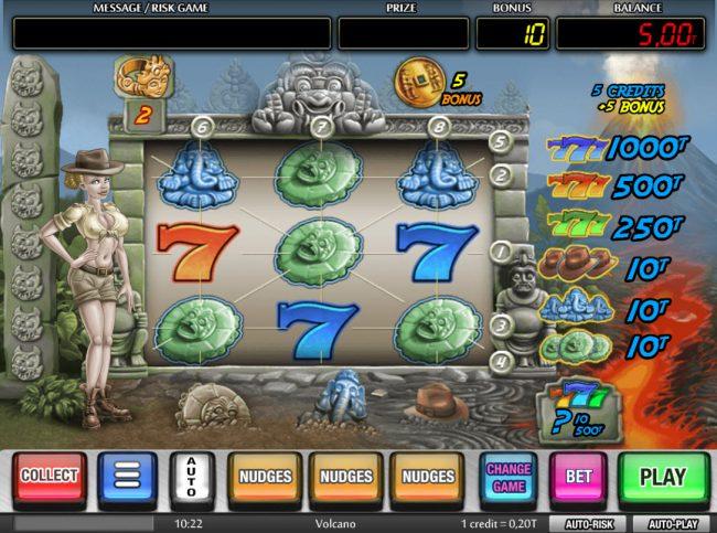 Volcano :: Upper Game Board