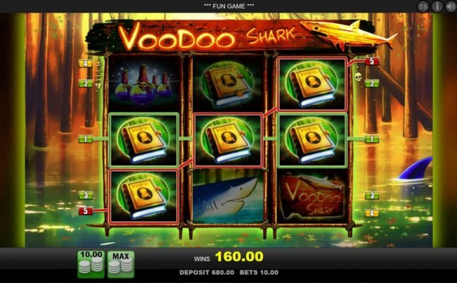 A 160.00 jackpot triggered by a pair of winning paylines.