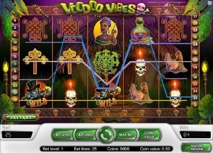 Wintingo featuring the Video Slots Voodoo Vibes with a maximum payout of $15,000
