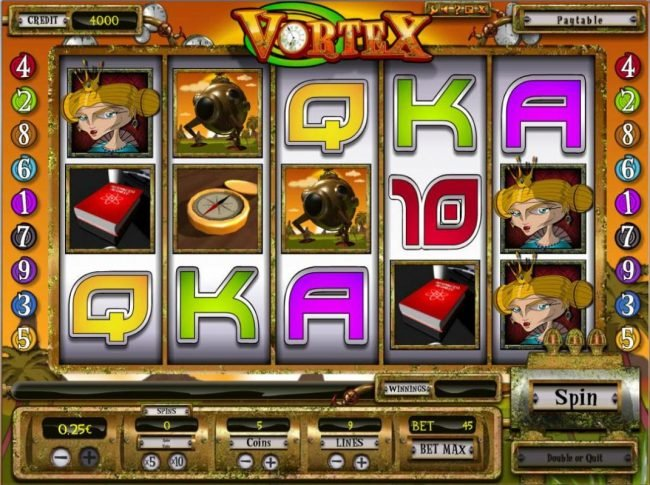 Play slots at Win Own Casino: Win Own Casino featuring the Video Slots Vortex with a maximum payout of $6,250
