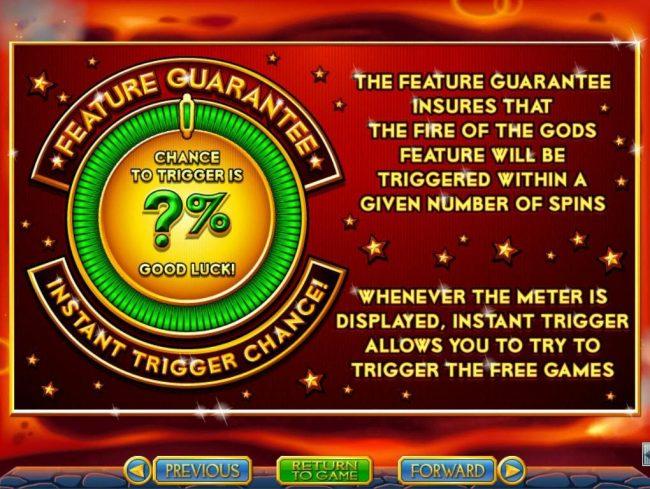 Feature Guarantee
