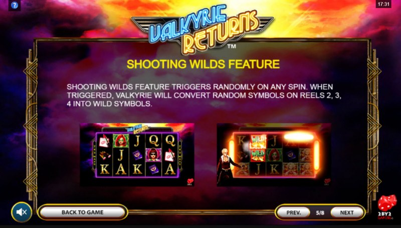 Valkyrie Returns :: Shooting Wilds Feature