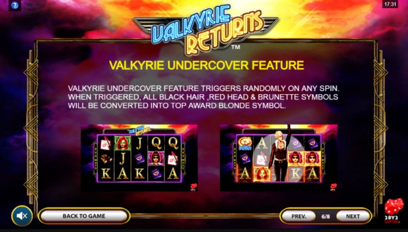 Valkyrie Returns :: Valkyrie Undercover Feature