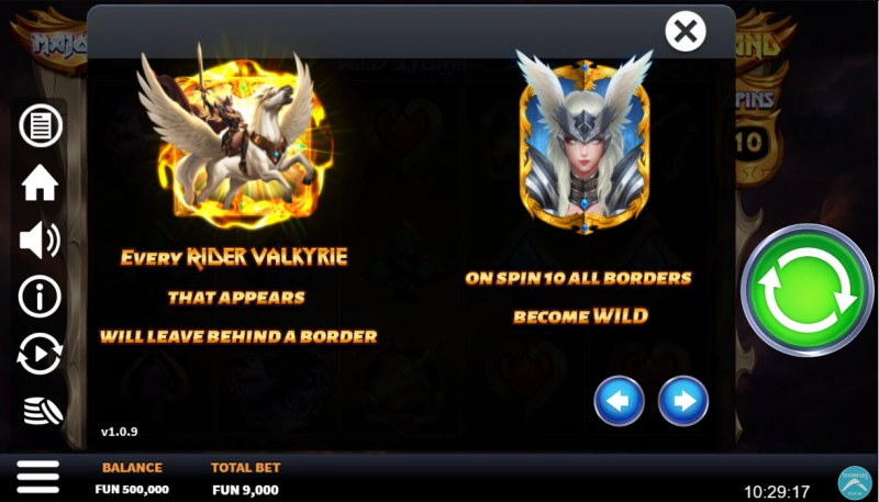 Valkyrie Wild Storm :: Feature Rules