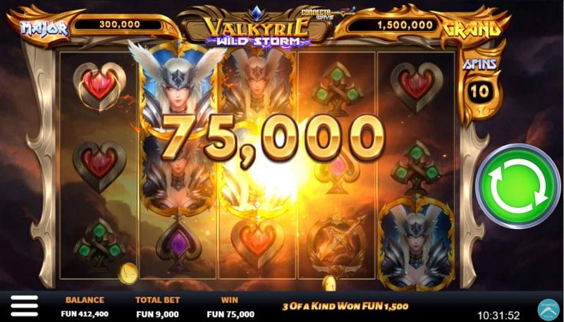 Valkyrie Wild Storm :: Big Win