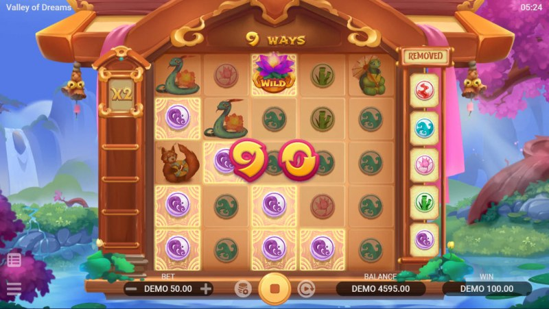 Valley of Dreams :: Multiple winning combinations