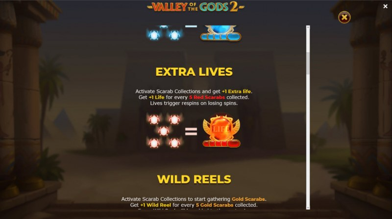 Valley of the Gods 2 :: Extra Lives