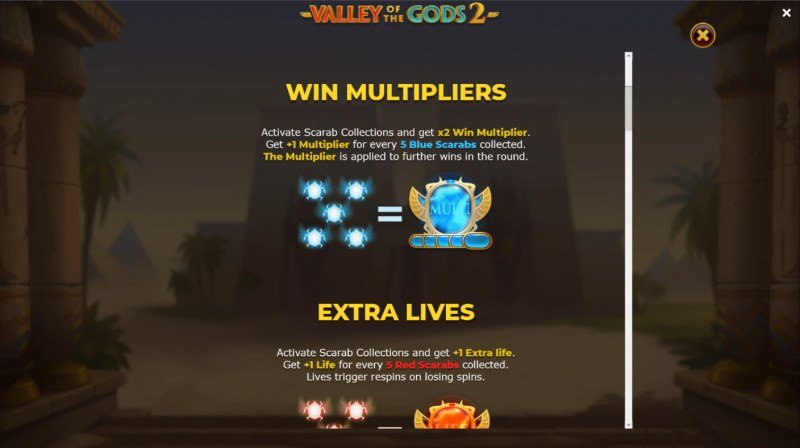 Valley of the Gods 2 :: Win Multiplier