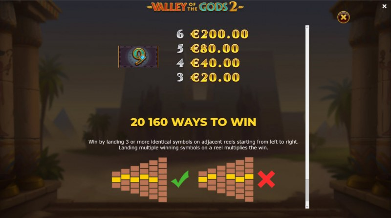 Valley of the Gods 2 :: 20160 Ways to Win