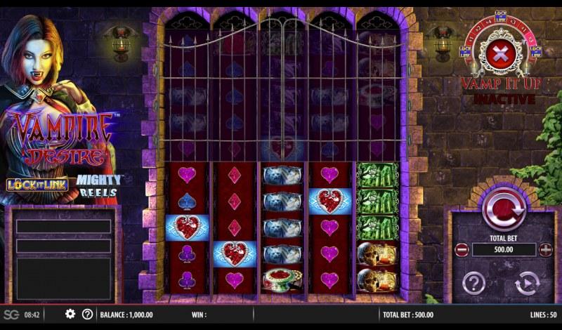 Vampire Desire :: Main Game Board