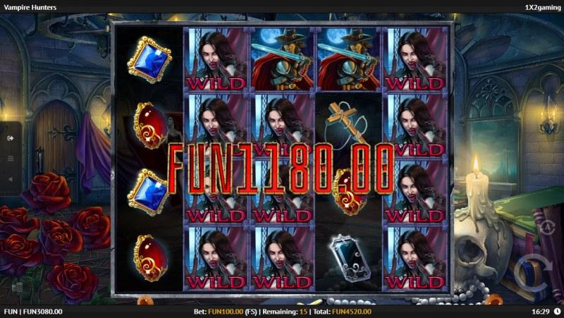 Vampire Hunters :: Big Win