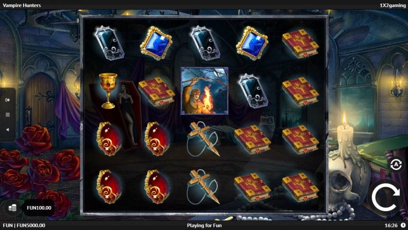 Vampire Hunters :: Main Game Board
