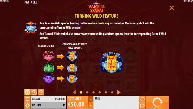 Vampire Senpai :: Turning Wild Feature