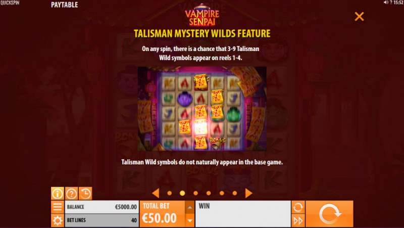 Vampire Senpai :: Talisman Mystery Wilds Feature