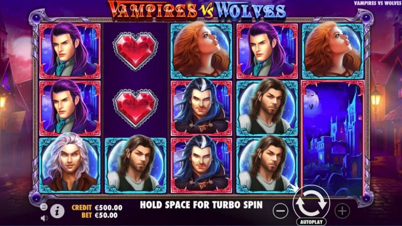 Vampires vs Wolves :: Main Game Board