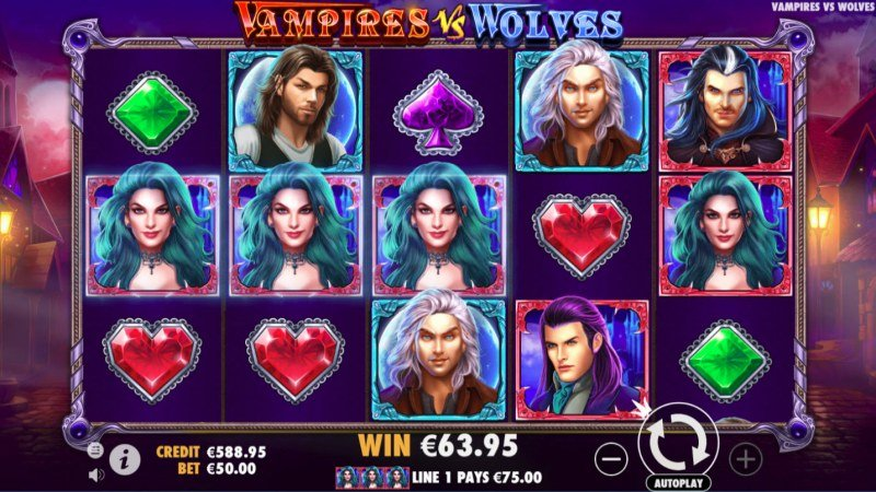 Vampires vs Wolves :: Three of a kind