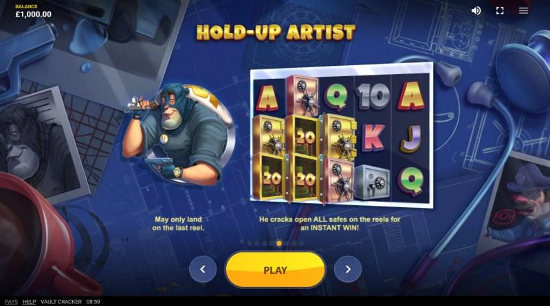 Vault Cracker :: Hold-Up Artist