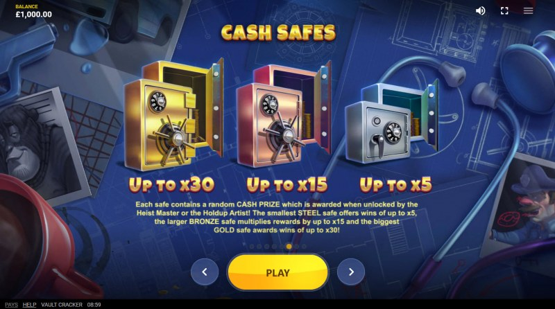 Vault Cracker :: Cash Safes