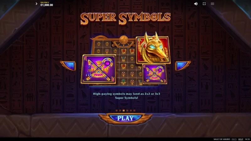 Vault of Anubis :: Super Symbols