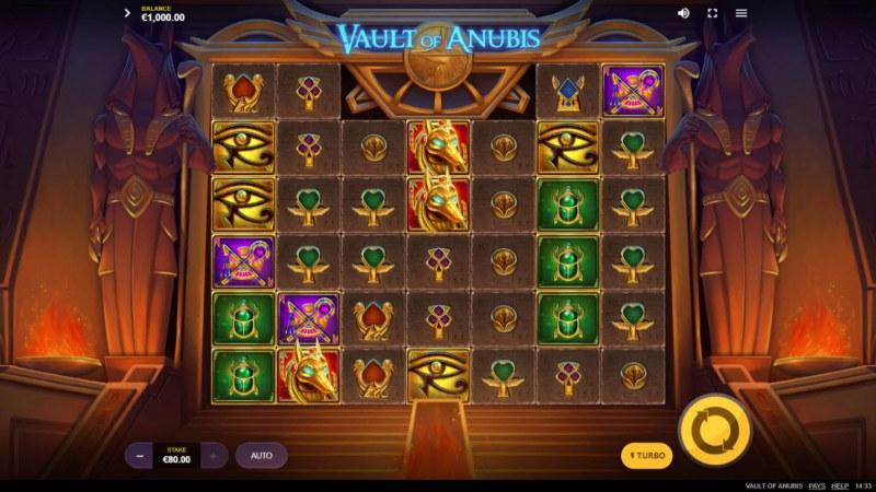 Vault of Anubis :: Main Game Board
