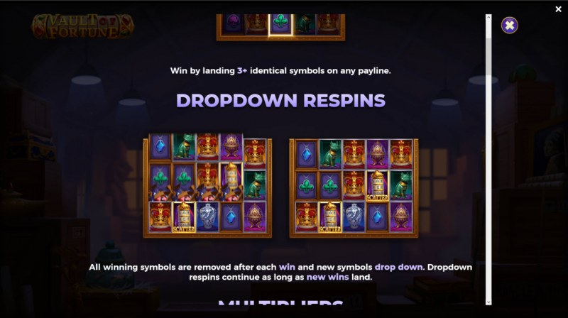 Vault of Fortune :: Dropdown Respins