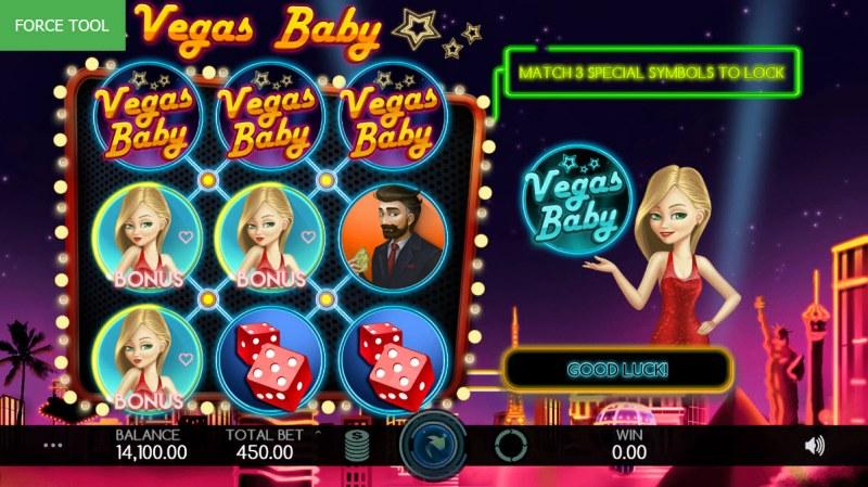 Vegas Baby :: Scatter symbols triggers bonus feature