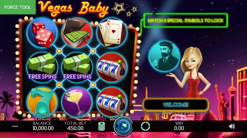 Vegas Baby :: Main Game Board