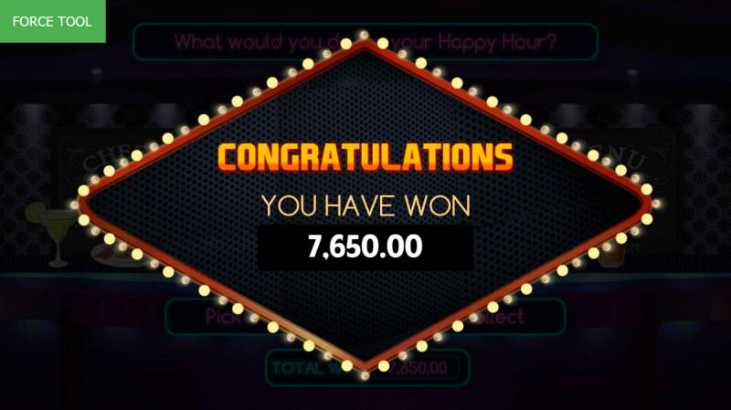 Vegas Baby :: Total bonus payout