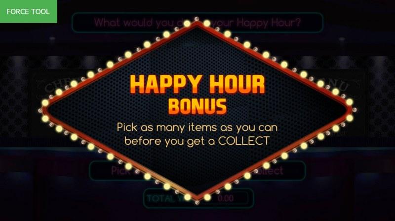 Vegas Baby :: Happy Hour Bonus activated