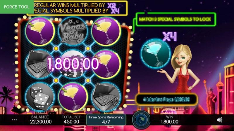 Vegas Baby :: Big Win
