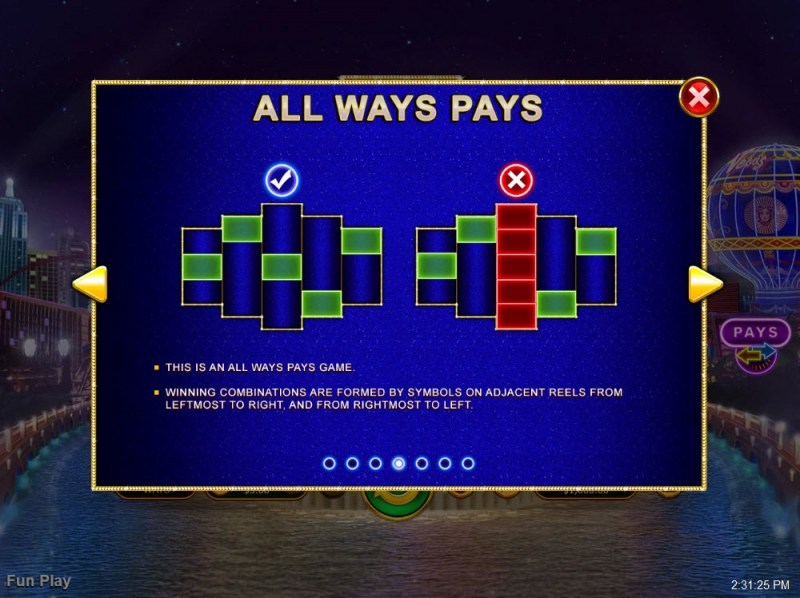 Vegas Lux :: 720 Ways to Win