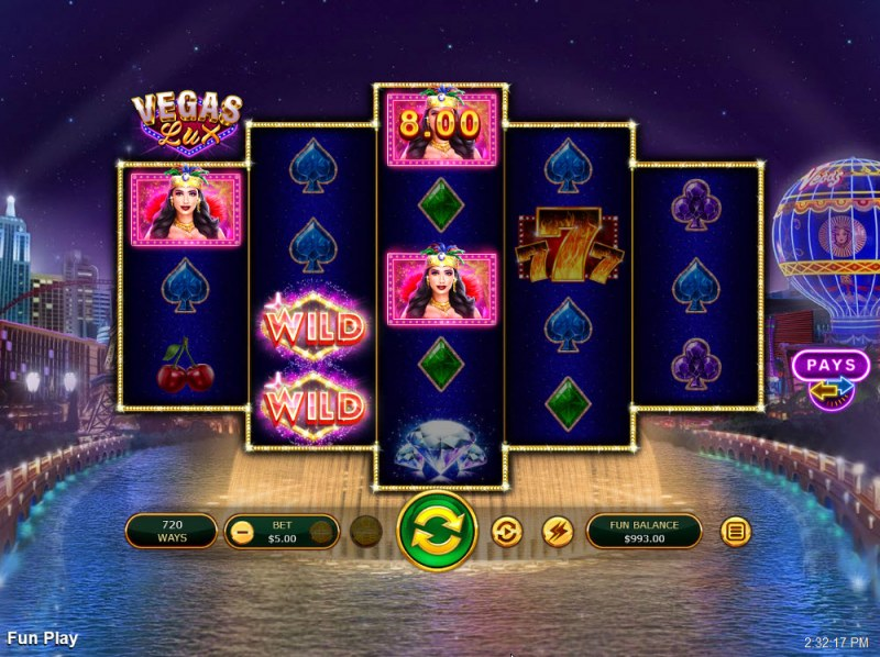 Vegas Lux :: Multiple winning combinations