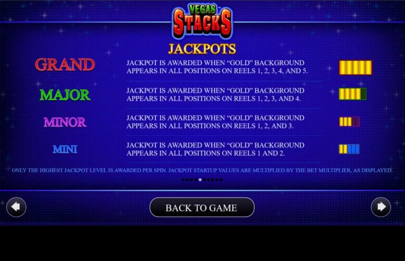 Vegas Stacks :: Jacpots