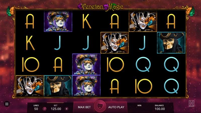 Venetian Magic :: Main Game Board