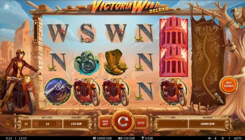 Victoria Wild Deluxe :: Base Game Screen