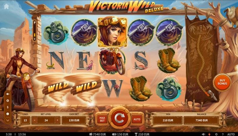 Victoria Wild Deluxe :: A three of a kind win