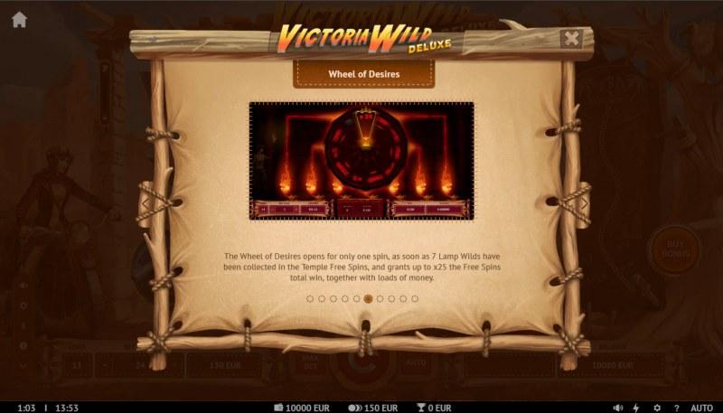 Victoria Wild Deluxe :: Wheel of Desires