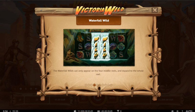 Victoria Wild :: Wild Symbol Rules
