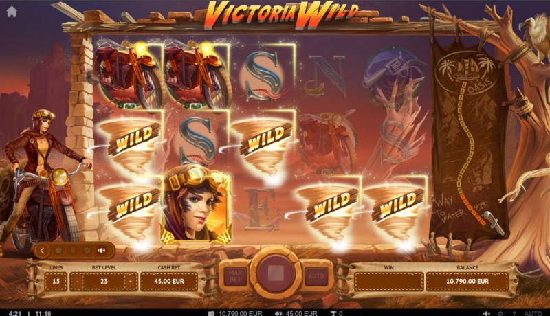 Victoria Wild :: Multiple winning combinations lead to a big win