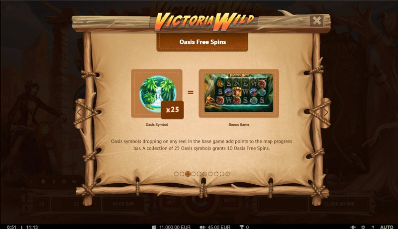 Victoria Wild :: Free Spin Feature Rules